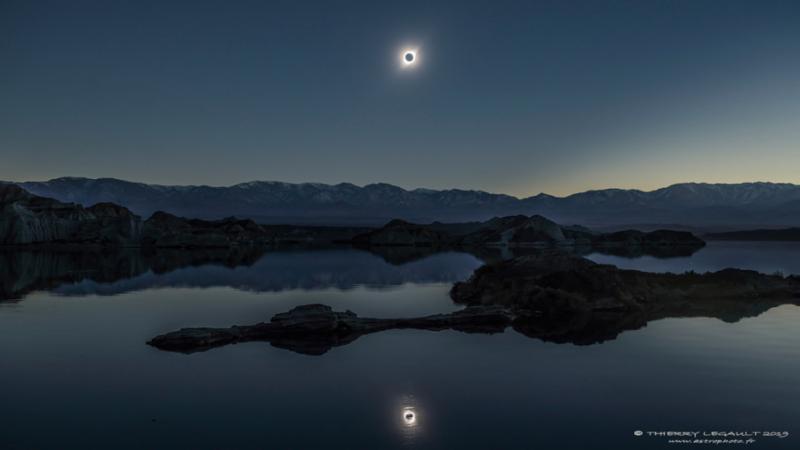 Сонячне затемнення 2 липня: NASA оприлюднило своє зображення