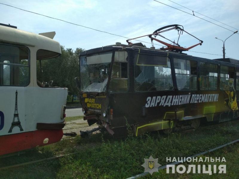 У Харкові зіткнулися два трамваї: четверо постраждалих