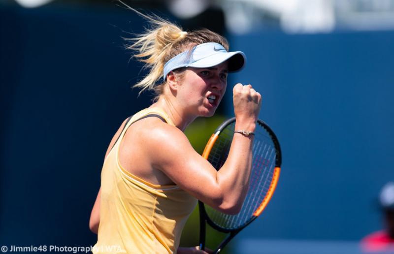 Еліна Світоліна вийшла до 1/4 фіналу тенісного турніру WTA в Сан-Хосе