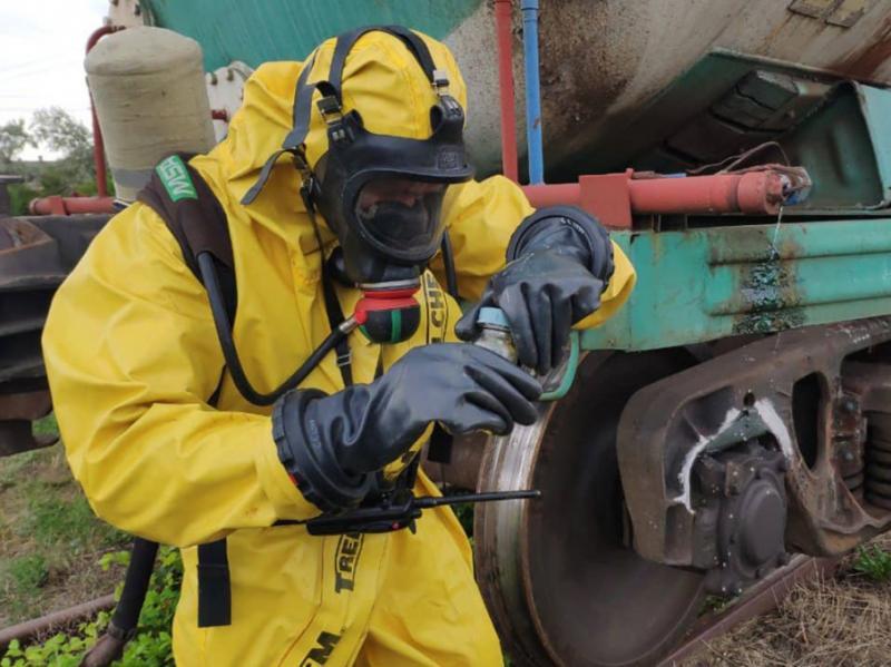 «Витік бензолу на Миколаївщині»: ДСНС переконує, що повітря чисте