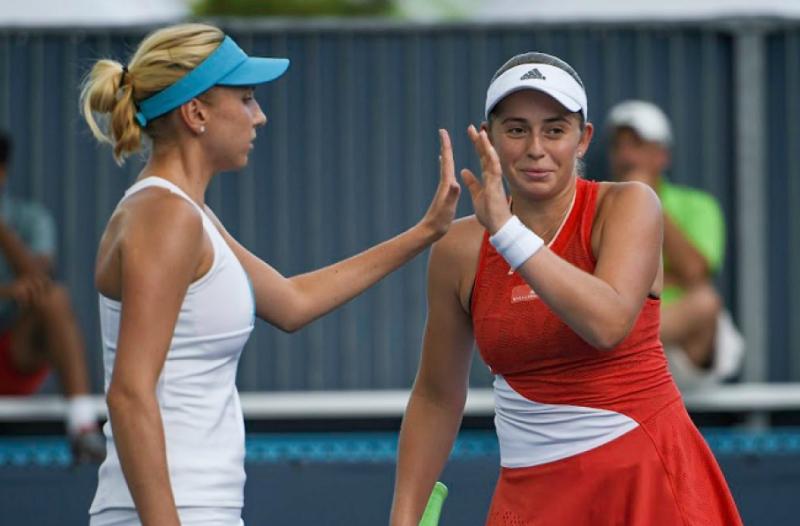 Людмила Кіченок з перемоги стартувала на тенісному турнірі в Цинциннаті у парному розряді