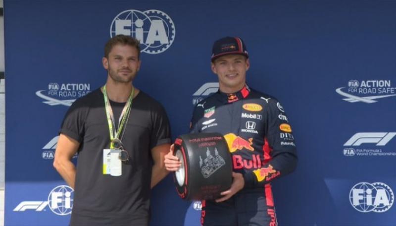 Голландський пілот Формули-1 Макс Ферстаппен виграв кваліфікацію Гран-прі Угорщини