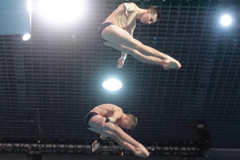 Олексій Середа і Олег Сербін здобули «срібло» Євро-2019 у синхронних стрибках у воду з 10-метрової вишки