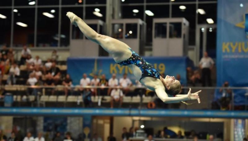 Олена Федорова стала другою на Євро-2019 в стрибках у воду з метрового трампліна