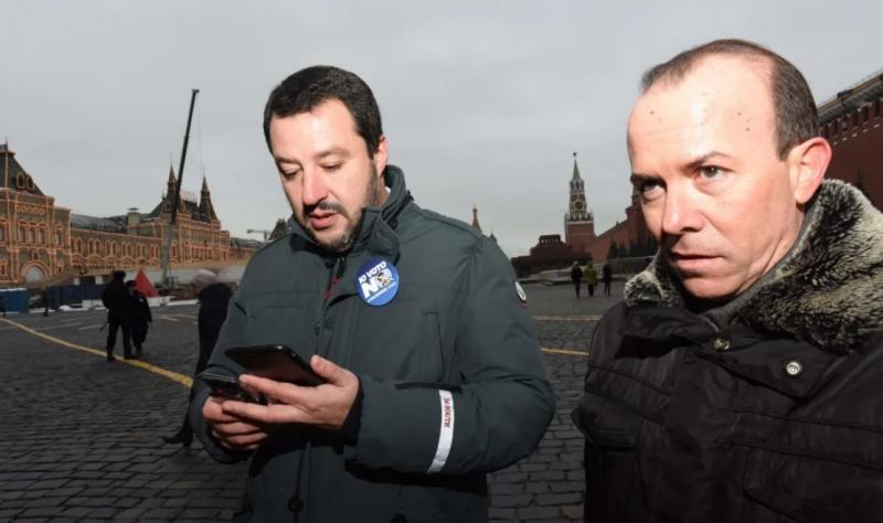 Помічник Сальвіні здійснив низку таємничих поїздок до Москви - ЗМІ
