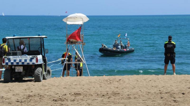 У Барселоні евакуювали пляж через ймовірний вибуховий пристрій у морі