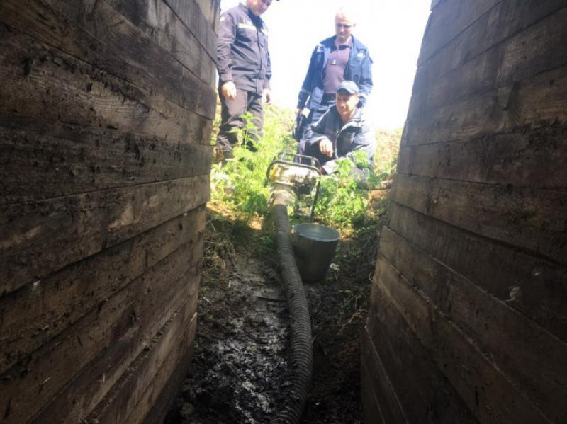 На КПВВ «Новотроїцьке» через негоду затопило окремі споруди