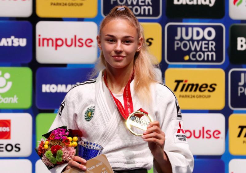 Дар'я Білодід удруге поспіль виграла «золото» чемпіонату світу з дзюдо