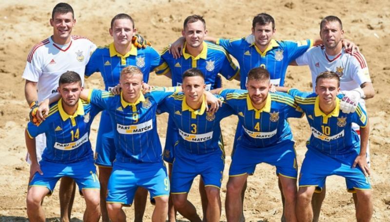 Завтра збірна України з пляжного футболу стартує на Суперфіналі Євроліги-2019