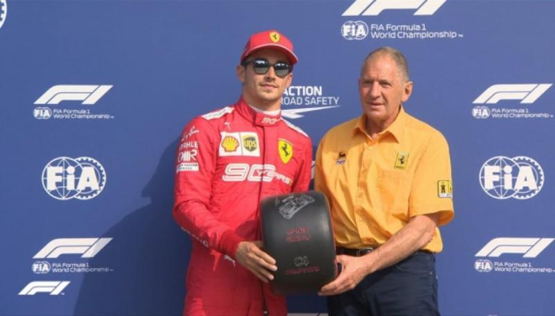 Монегаск Шарль Леклер виграв кваліфікацію Гран-прі Італії у автоперегонах класу Формула-1