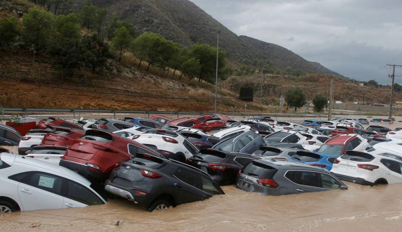 Кількість жертв негоди в Іспанії зросла до п'яти