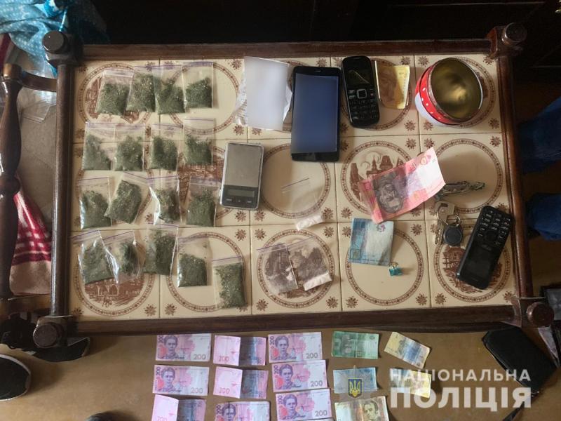 Поліція знешкодила злочинну групу, яка збувала наркотики на території Уманщини