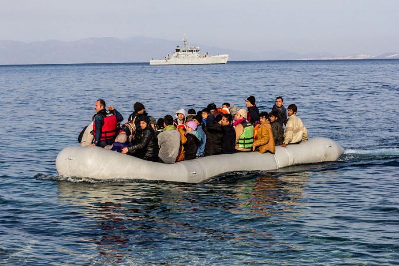 Біля берегів Греції перекинувся човен з мігрантами, є загиблі
