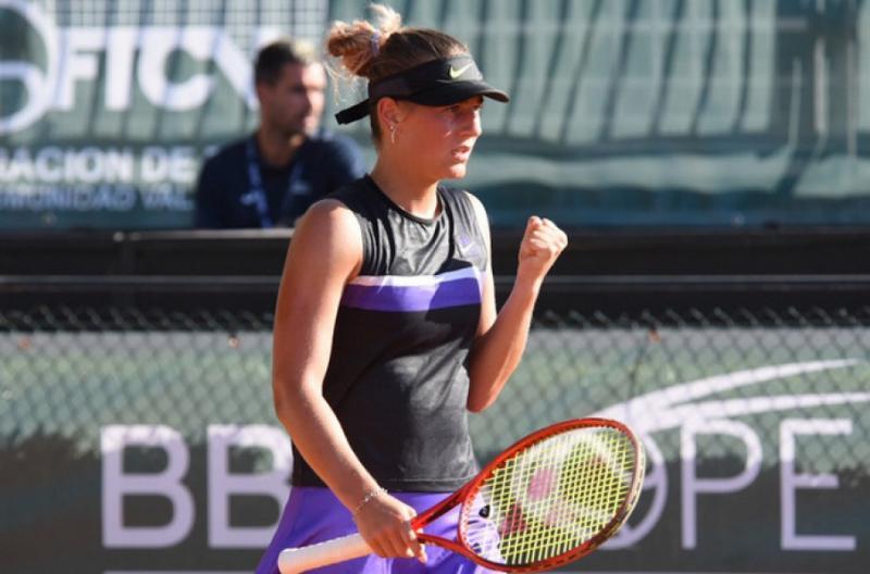 Марта Костюк вийшла до півфіналу тенісного турніру ITF у Валенсії