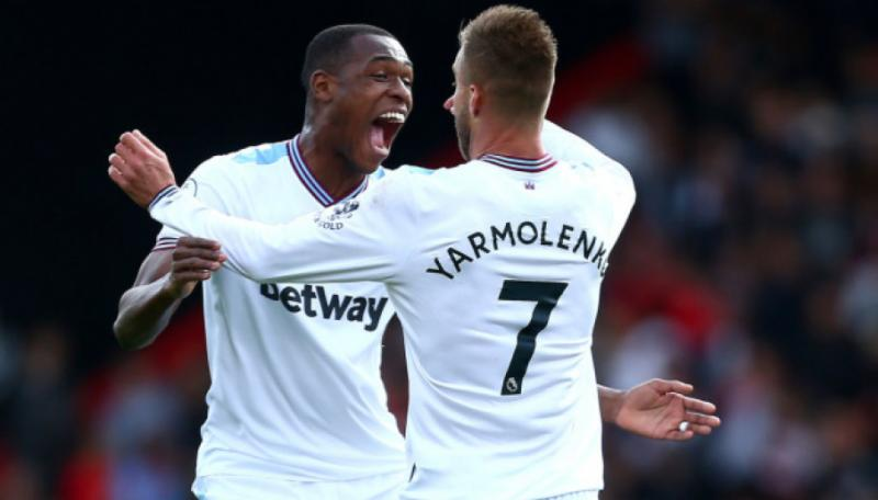 Андрій Ярмоленко забив за «Вест Гем» у другій грі поспіль в матчі чемпіонату Англії