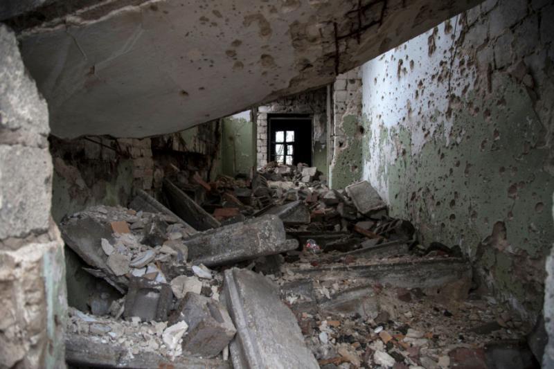 Збройні угруповання вісім разів атакували українські позиції на Донбасі – били з мінометів та БМП