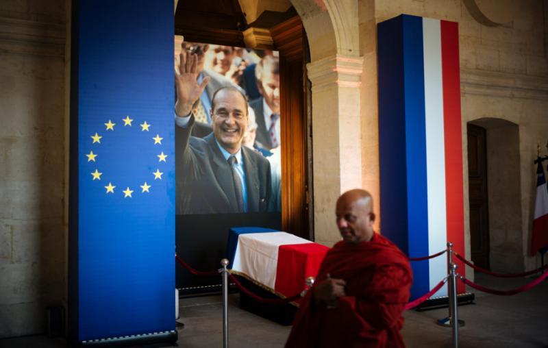 У Франції попрощалися з колишнім президентом Жаком Шираком