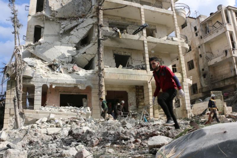 Жертвами російських авіанападів у Сирії стали 8300 цивільних осіб, - ЗМІ