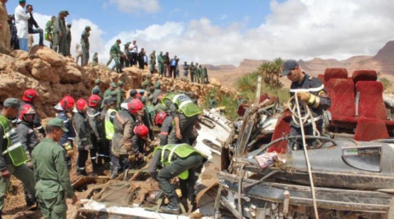 У Марокко внаслідок повені перекинувся автобус, 17 осіб загинули