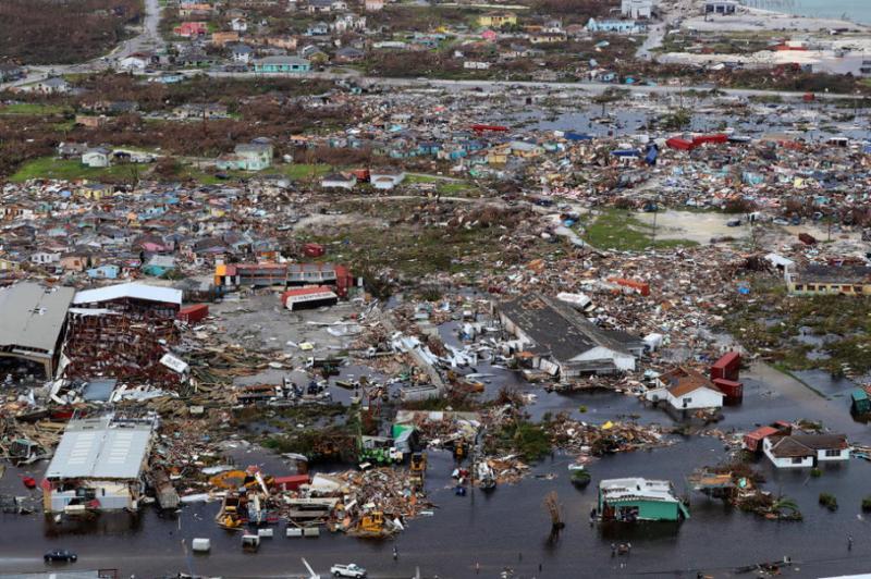 Понад дві тисячі осіб зникли безвісти після урагану «Доріан» на Багамах