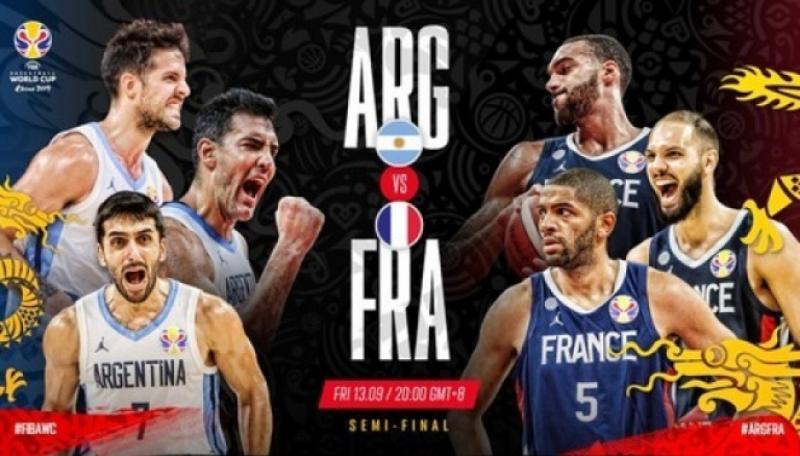 Аргентина впевнено обіграла Францію і тепер у фіналі ЧС-2019 з баскетболу в Китаї зіграє з Іспанією