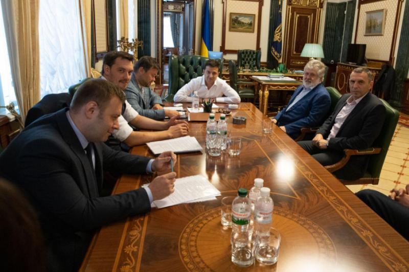 Зеленський зустрівся з Коломойським - обговорили бізнес та енергетику