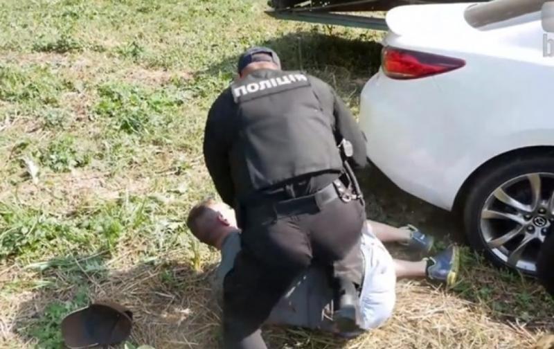 У Білій Церкві затримали п'яного прокурора, який ледь не збив пішохода
