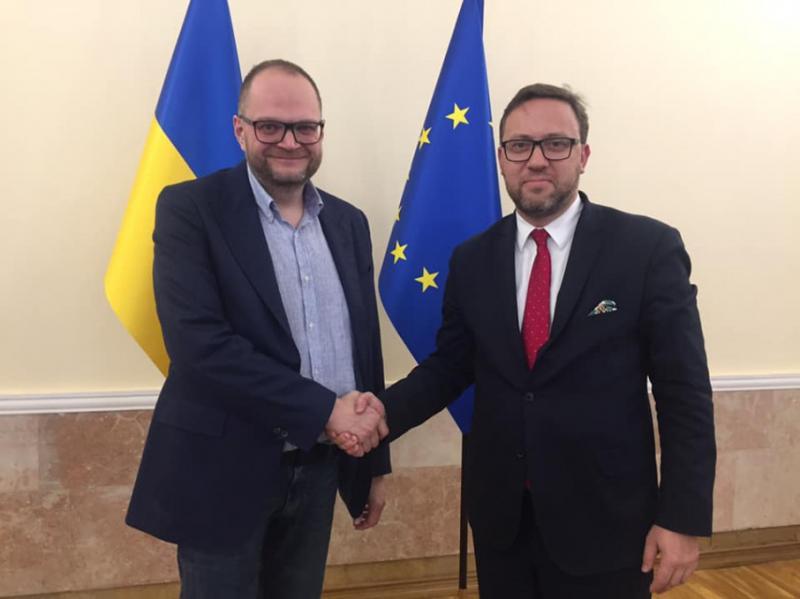 Міністр культури обговорив із польським послом процедуру ексгумації поховань