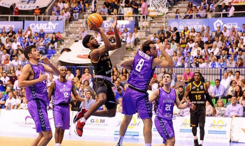 «Київ-Баскет» програв іспанському «Бургосу» в матчі баскетбольної Ліги чемпіонів ФІДЕ