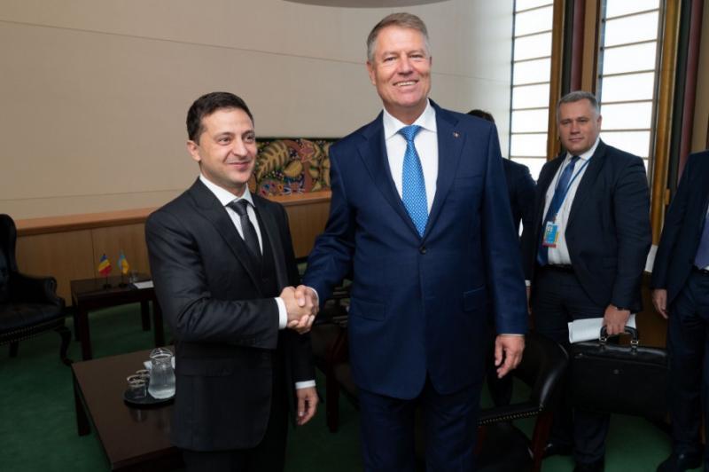 Зеленський домовився із президентом Румунії про обмін візитами найближчим часом