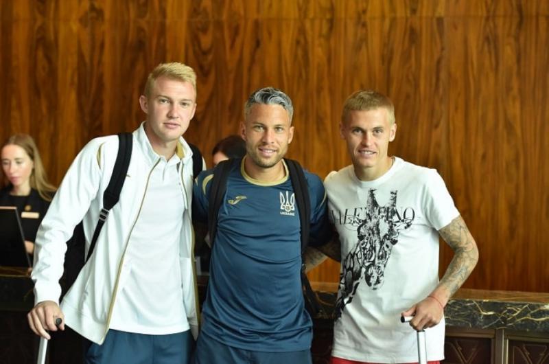 Сьогодні у Києві розпочався збір національної футбольної команди перед матчем проти Литви