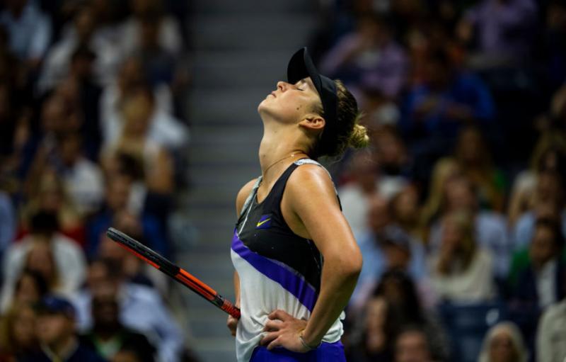 Першу гру Еліни Світоліної на тенісному турнірі в Чженчжоу перенесли через негоду