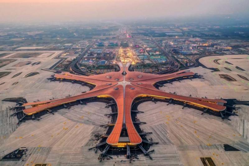 У Китаї відкрили найбільший аеропорт в світі