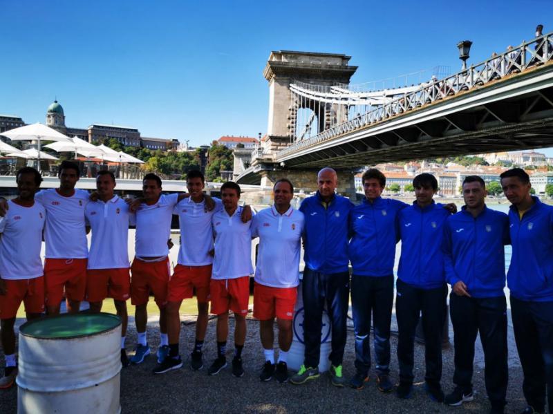 У Будапешті відбулося жеребкування тенісного матчу Кубка Девіса-2019 Україна – Угорщина