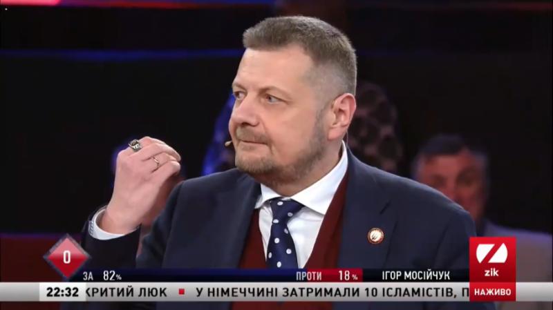 Мосійчук про скандальний допис: Було домагання з боку Гончарука, а чи ні, має з'ясувати судова експертиза