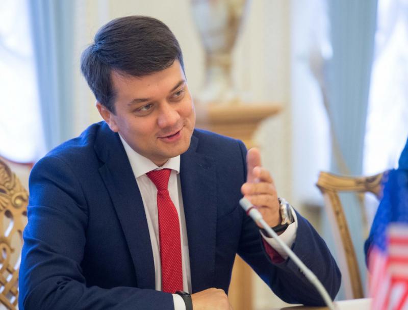 """Разумков піде з посади голови партії """"Слуга народу"""""""