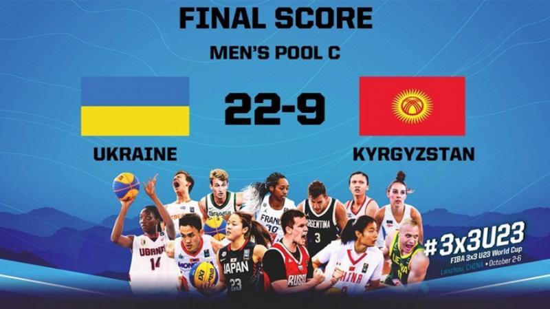 Чоловіча і жіноча збірні України U-23 з баскетболу 3х3 з перемог стартували у Китаї на ЧС-2019