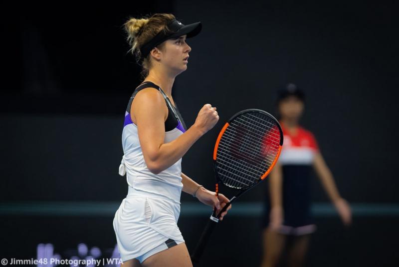 Еліна Світоліна обіграла американку Софію Кенін і вийшла до 1/4 фіналу тенісного турніру WTA в Пекіні
