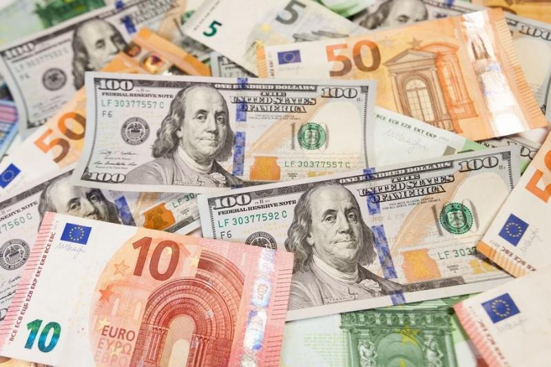 Курс валют НБУ: Долар - 24,87 гривень, євро – 27,24 гривень