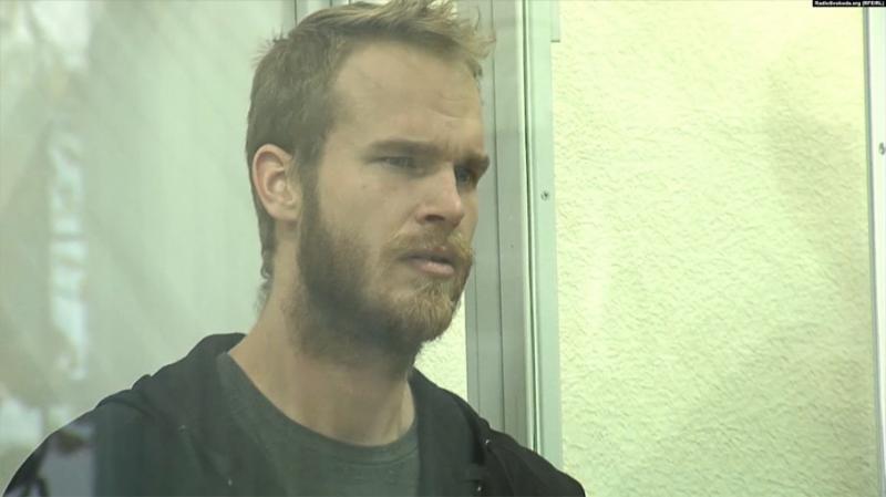У Вінниці суд арештував добровольця з США, якого на батьківщині можуть стратити