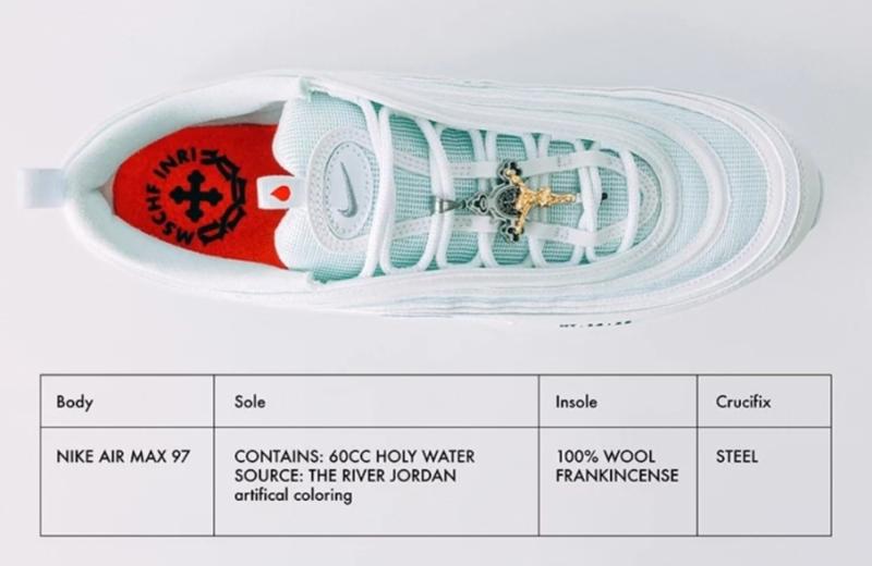 Nike в колаборації з дизайнерським бюро випустив «кросівки Ісуса»