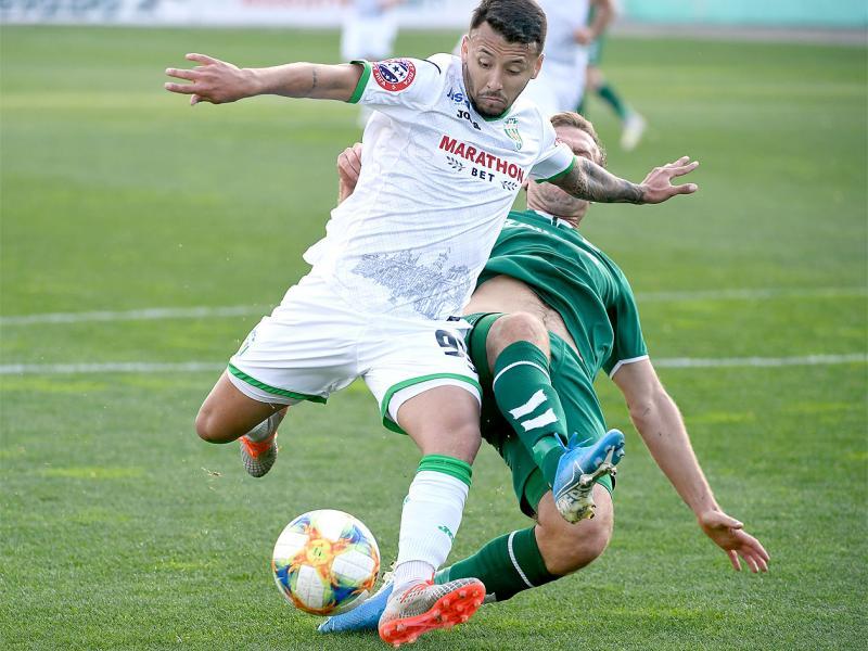 Львівські «Карпати» зіграли унічию в товариському футбольному матчі з литовським «Жальгірісом»