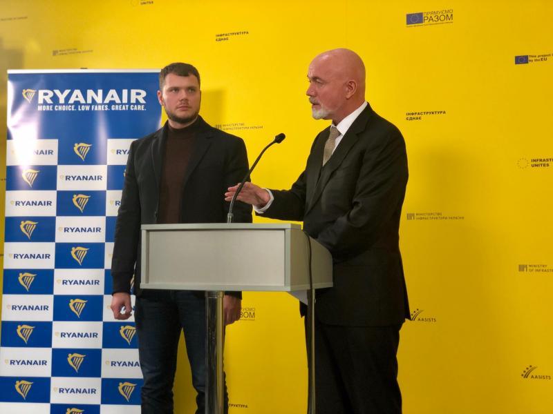 Новий рейс Херсон – Краків від Ryanair свідчить про наші спільні наміри розвивати регіональні аеропорти, - Владислав Криклій