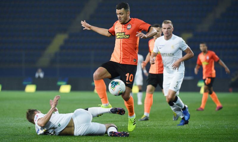 У стартовій грі 11 туру футбольної Прем'єр-ліги України «Шахтар» розгромив «Колос»