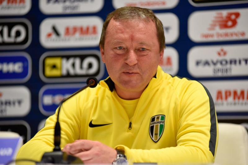 Тренер «Олександрії» Володимир Шаран: Ми заслуговували на нічийний результат