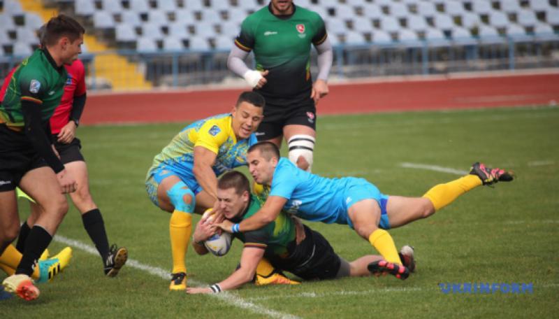 Збірна України з регбі переможно стартувала в дивізіоні Trophy чемпіонату Європи