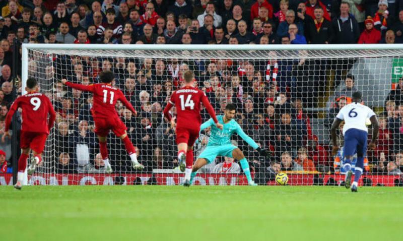 «Ліверпуль» здобув вольову перемогу над «Тоттенгемом» в матчі 10-го туру чемпіонату Англії