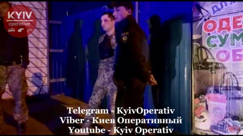 У Києві троє п'яних спецзв'язківців влаштували стрілянину, є потерпілі