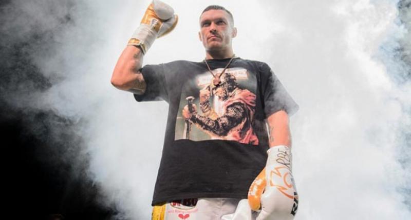 Боксерський бій Олександр Усик – Тайрон Спонг у неділю покаже телеканал «Інтер»