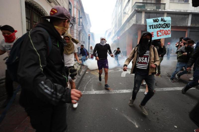 В Еквадорі через протести призупинили добуток нафти на трьох родовищах